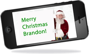 Santa Personalized Pic